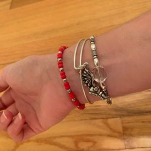 Alex and Ani Champion bracelet set